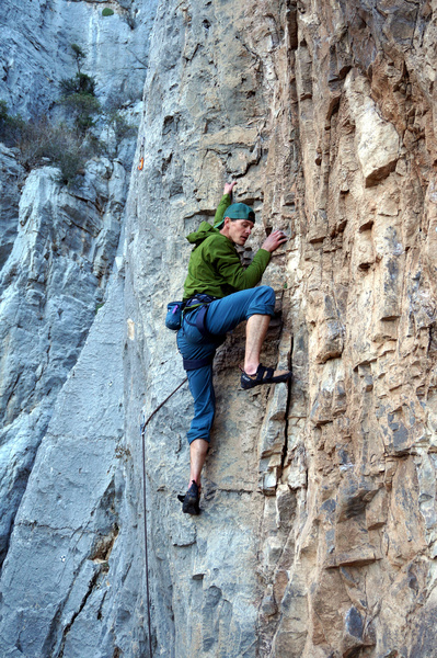Case climbing the thought provoking dihedral.