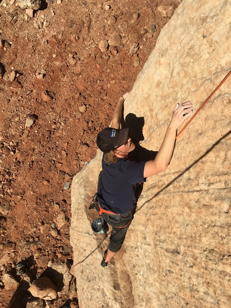 Shay Myers working through the bottom curx