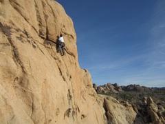 Rock Climbing Photo: Steve Lazny leading Sockeye