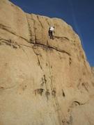 Rock Climbing Photo: Steve leading Sockeye