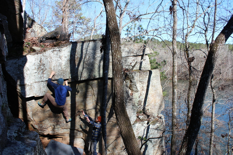 Nolan Fulton crimps the namesake on...