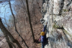 Making the clip on...