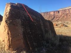 Rock Climbing Photo: Beta for What Would Brian Boitano Do?