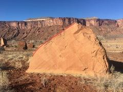 Rock Climbing Photo: Beta for Biblical Sense of Karma.