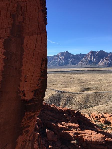 Epic climb/view
