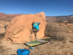 Rock Climbing Photo: On the gaston.