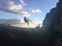 Rock Climbing Photo: Coming down after an incredible day at an incredib...