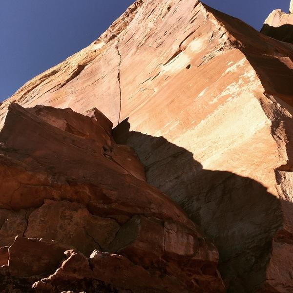 Super Crack of the Monument.