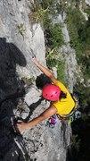Rock Climbing Photo: Multi Pitch Class (Karen)