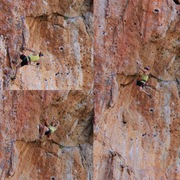 Rock Climbing Photo: Pontiki sequence - if you are careful, you don't h...
