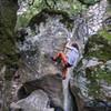 Brandon Savin working on Shrama Arete V9.<br> <br> Photo by Dalton Johnson<br> www.daltonjohnsonmedia.com<br> @seek_shangri_la