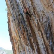 Rock Climbing Photo: tufas for days