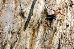 Rock Climbing Photo: Glamour shot from Secret Garden. This place is ama...