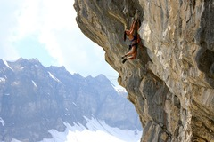 Rock Climbing Photo: Kathleen hanging around in Swizzy!!