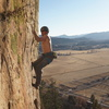 Adam Ferro on the second ascent of The Love Movement.