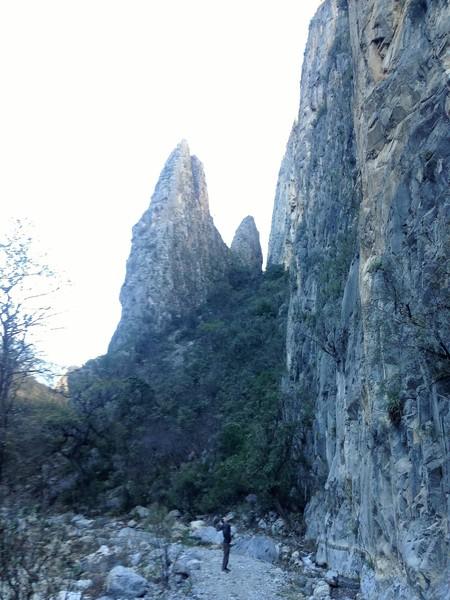Park and start climbing