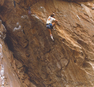 Rock Climbing Photo: Kloeberdanz  5.11d bitd - note the shoes