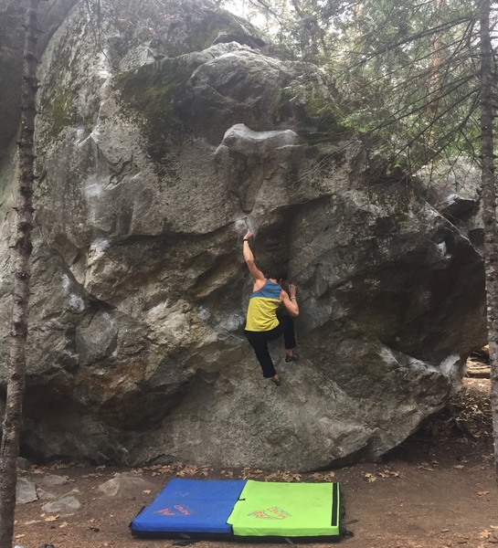 First outdoor V6! Such an awesome climb.