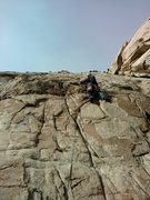 Rock Climbing Photo: Start of pitch 5