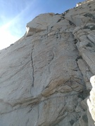 Rock Climbing Photo: View of pitch 7 and 8