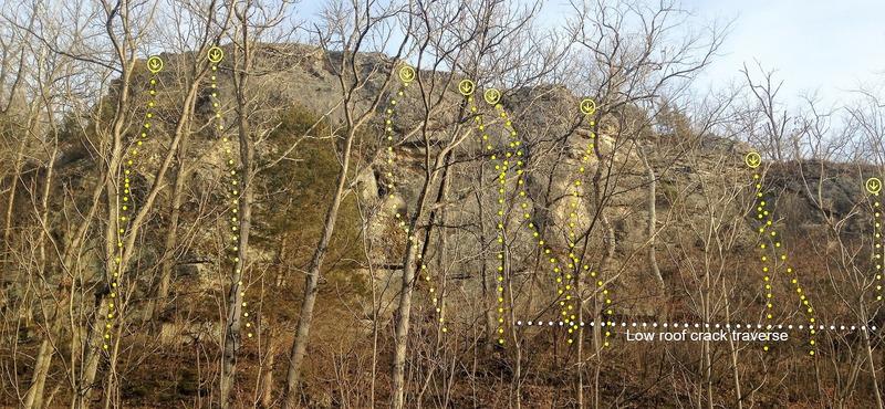Chubb Trail Crack Wall