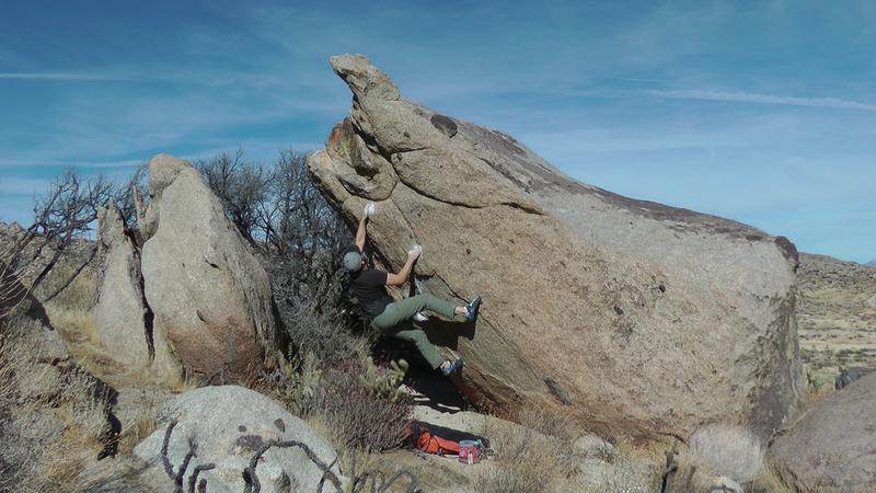 One of those hard easy Culp climbs.