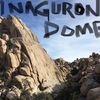 Inaguron Dome. The wall faces West.