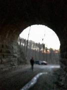 Inside the tunnel, inside the soul.