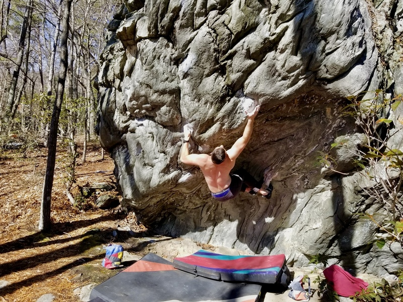 Sticking the move to the pinch on Stigmata V10