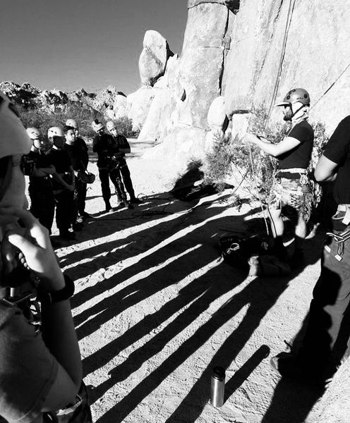 More Sea Cadet training in Joshua Tree!