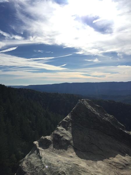 Top of Cal Ridge
