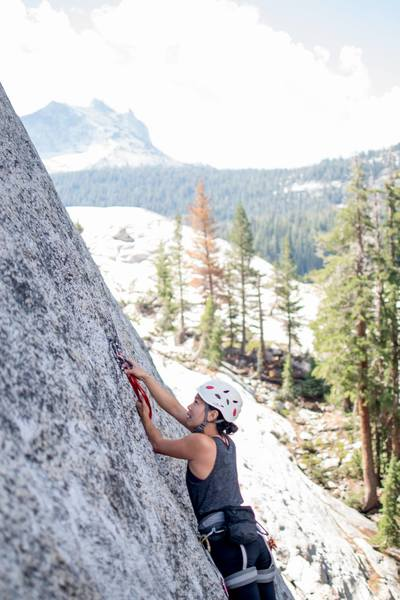 Classic spacey tuolumne bolts. still no joke for a solid 10a leader.