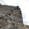 the gazelle cruising 'edge zeppelin' - a short, fun climb