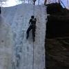 Action shot, midday climbing