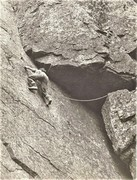 Rock Climbing Photo: Sepulchre. Kern Knotts Great Gable 1953