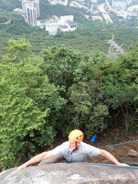 Above Hong Kong!