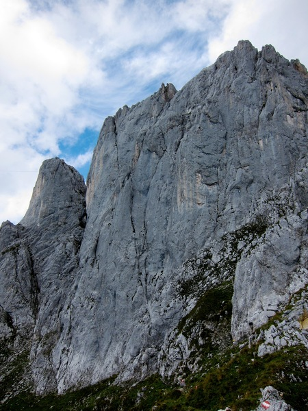 South face of the Törlwand