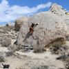 Alex on Ranger Rock