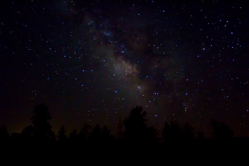 The Catacombs are a great place to camp, we did one night and were treated to the Milky Way plastered all across the sky.