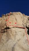 Rick Rockwell Climb, great climb, worth the hike.