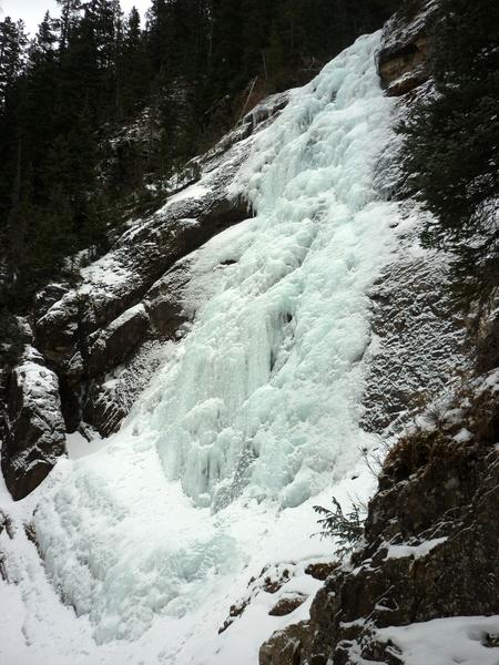 Bilk Creek Falls, 1/6/18.
