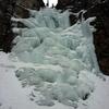 Lower Bilk Creek Falls, 1/6/18.