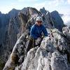 Alte Südwand:  summit ridge