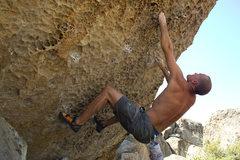 Rock Climbing Photo: TR on the steeps