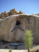 Rock Climbing Photo: Reaching for the lip on Streetcar