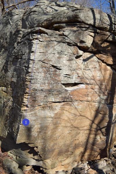 Screamin Eagle on the Main Boulder
