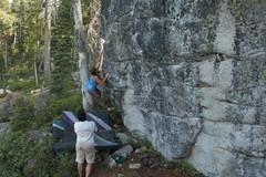 Rock Climbing Photo: Lauren on Sour Diesel