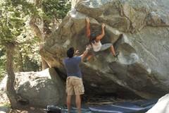 Rock Climbing Photo: Lauren on the Nose