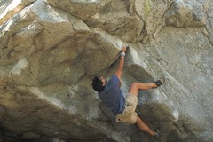 Rock Climbing Photo: D on the Nose