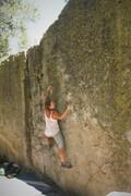 Rock Climbing Photo: Lauren feeling the Pain
